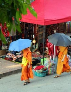 Monks-Luang-Prabang-Inquiring-Chef