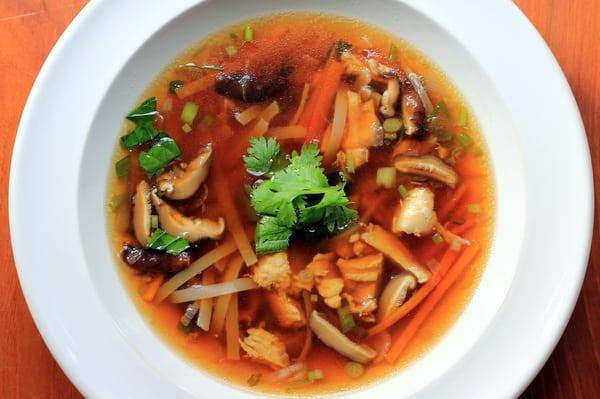 Lemongrass Chicken Noodle Soup Inquiring Chef