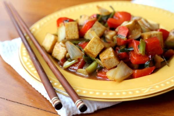 Sweet and Sour Tofu :: Inquiring Chef