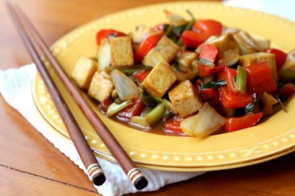 Sweet and Sour Tofu :: Inquiring Chef