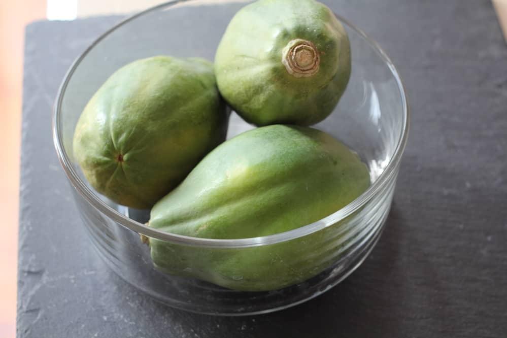 Ingredients for Green Papaya Salad - Som Tum Thai