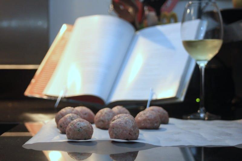 Turkey Meatball Subs Inquiring Chef