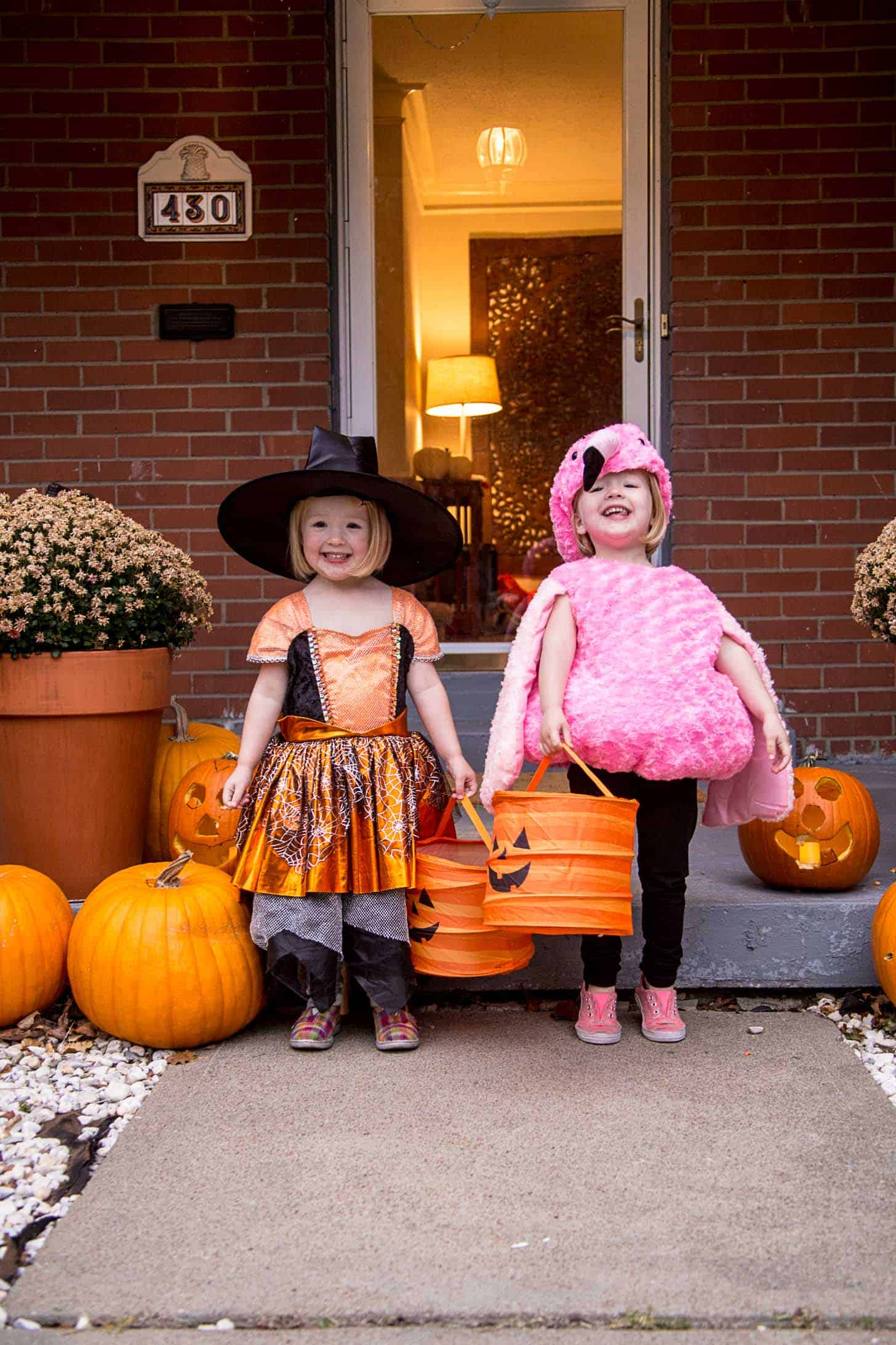 Molly and Clara Halloween