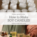 how to make soy candles