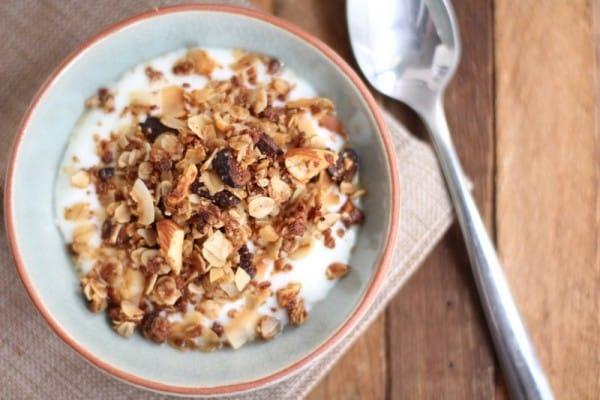 Chai Spice Granola with Almonds and Coconut 3