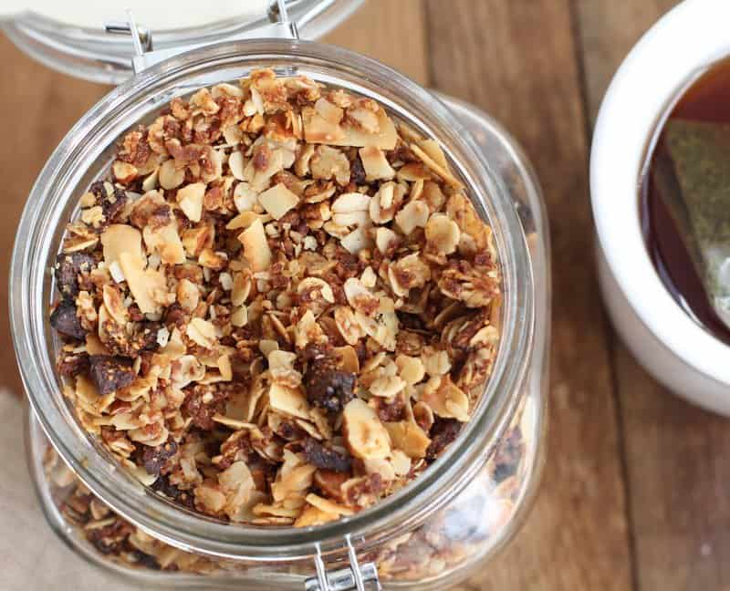 granola crusted pear and almond butter panini coconut granola coconut ...