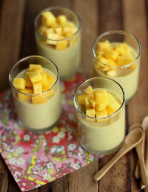 Mango Yogurt Mousse Cake