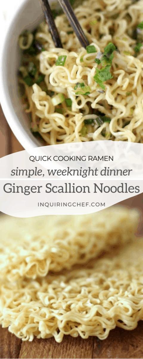 ginger scallion noodles