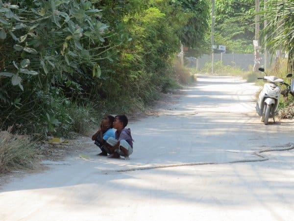 Children Koh Lipe Thailand