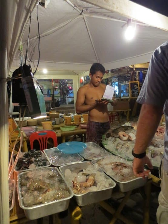 Fish Dinner Koh Lipe Thailand