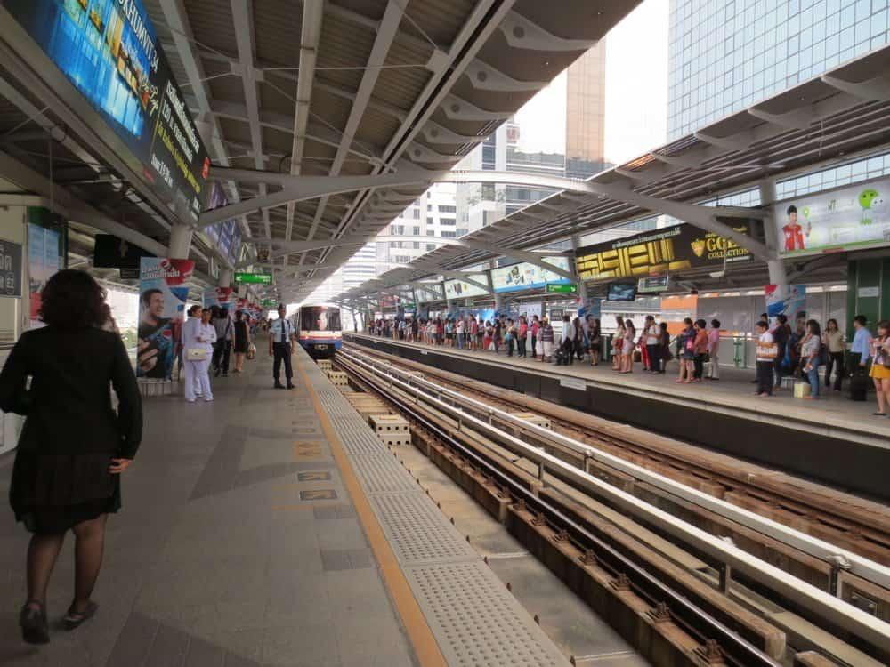 Bangkok BTS Station