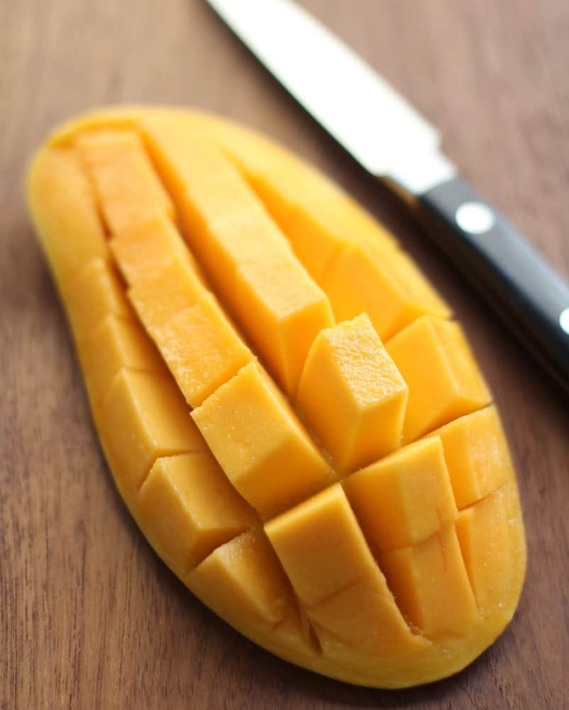 Slicing a Mango