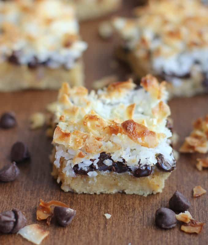 a layer bar on a wooden table
