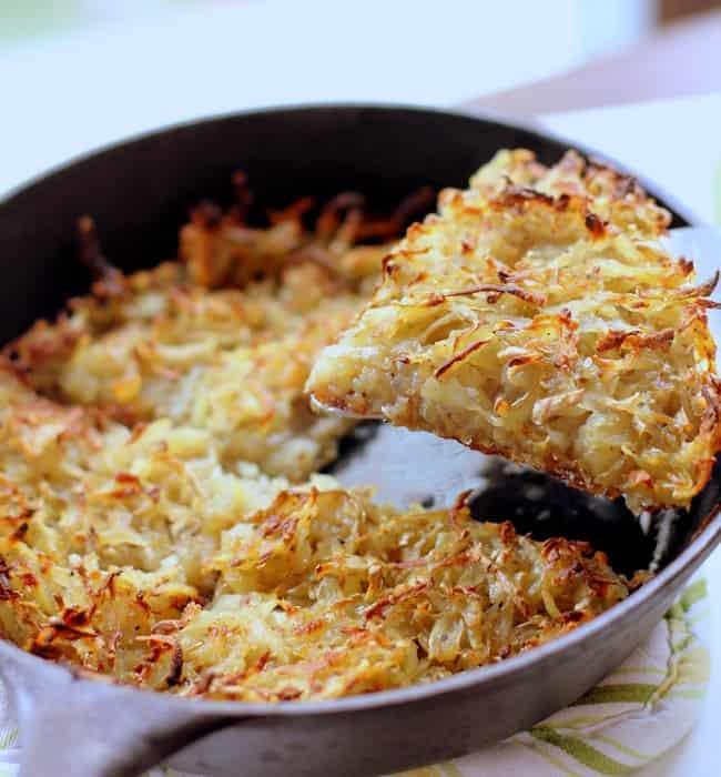 Crispy Skillet Potato Hash Wedges :: Inquiring Chef