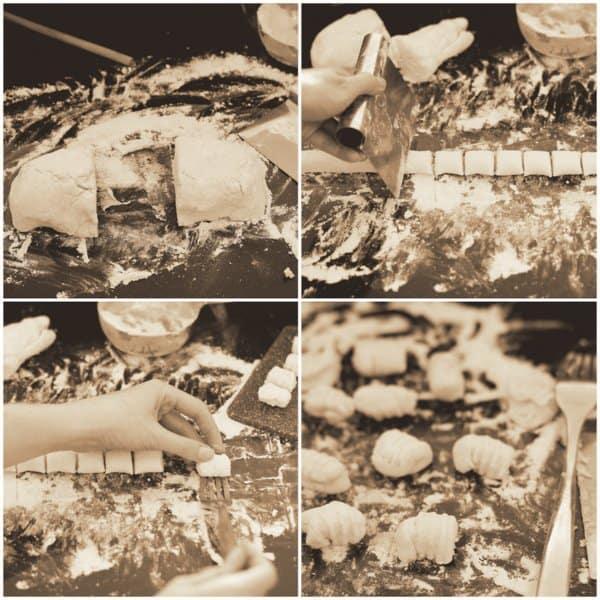 Shaping Gnocchi
