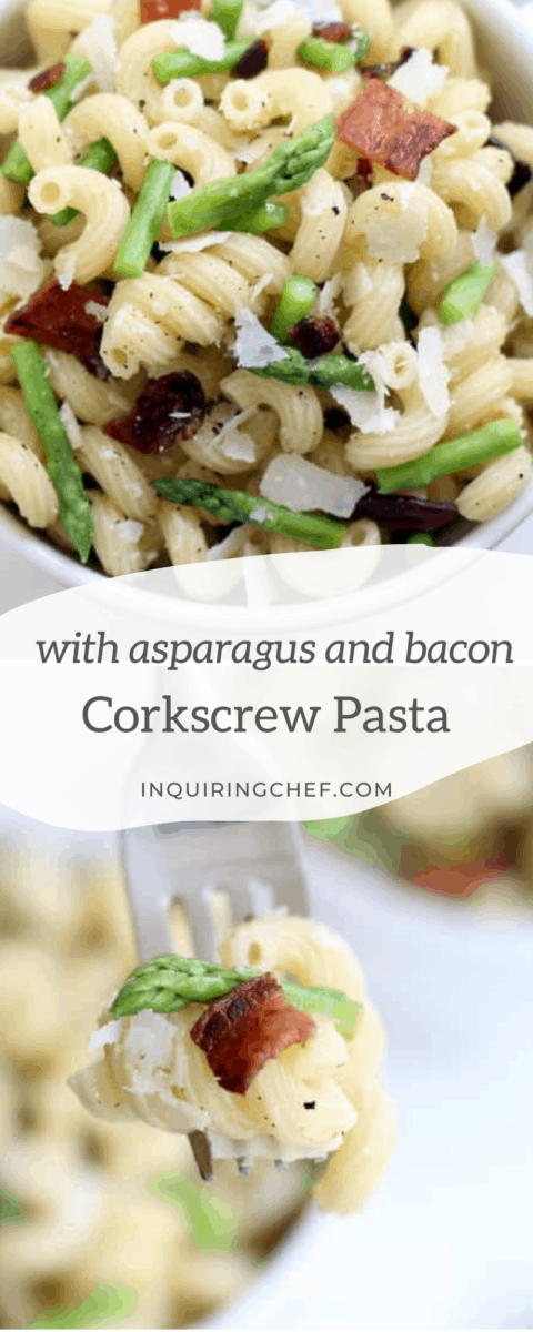 corkscrew pasta