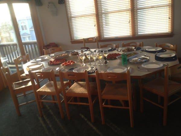 OBX Dinner Table