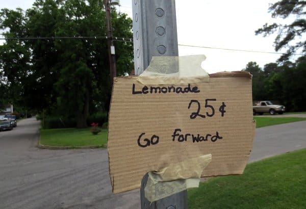 lemonade stand Norfolk