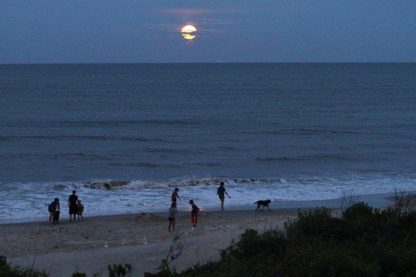 moon rise OBX