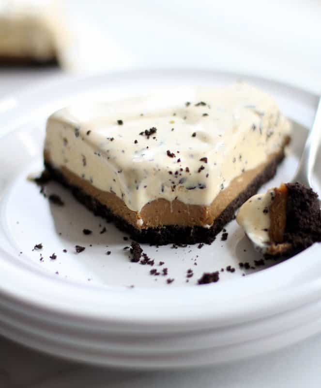 Chocolate and Speculoos Ice Cream Cake -