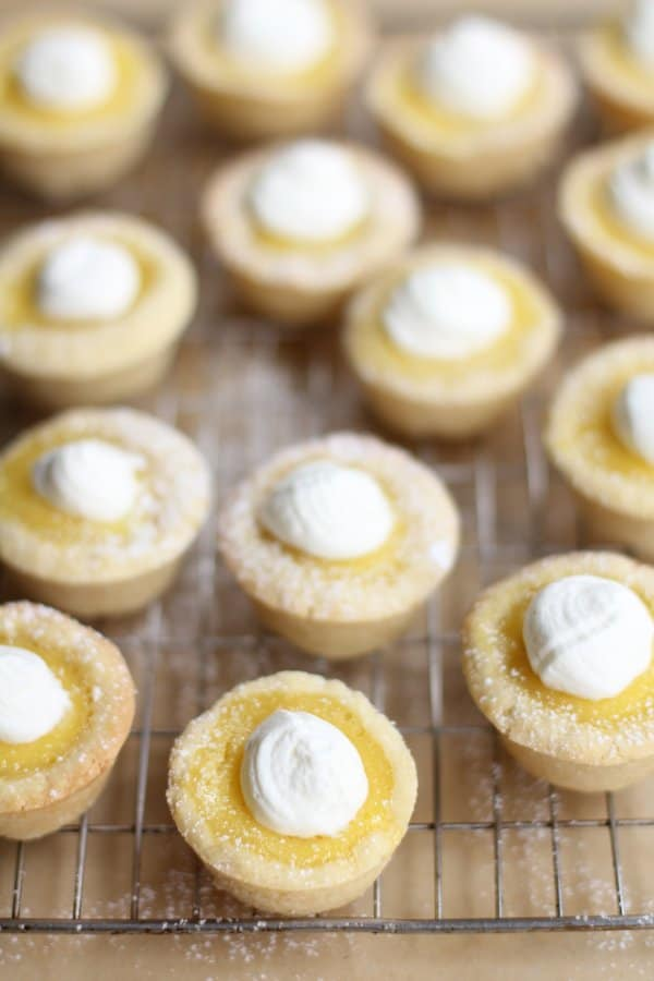 Sugar Cookie Lemon Tarts_Inquiring Chef