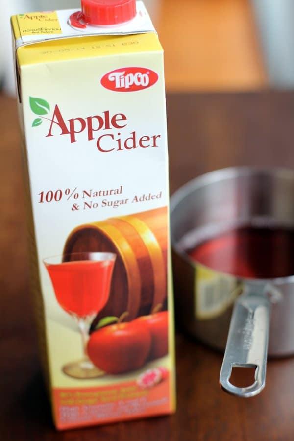 Apple Cider in Thailand