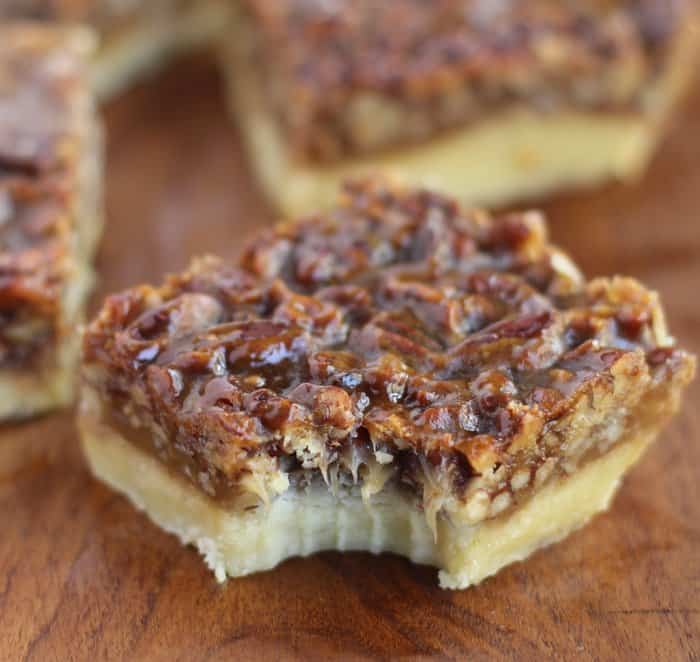 Pecan Squares Recipe — Dishmaps