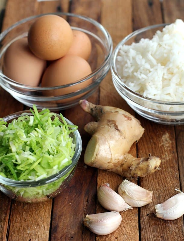 Ginger Fried Rice_Ingredients