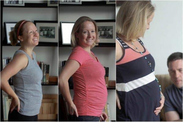 Baby Bump 12 14 16 weeks