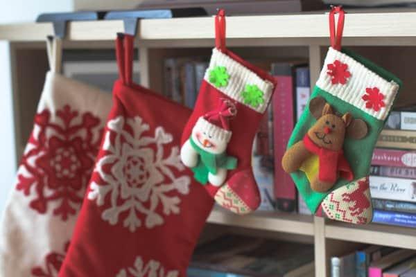Twin Christmas Stockings 2013