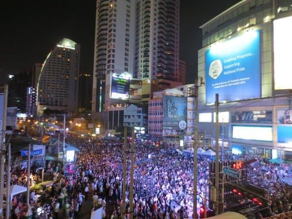 Bangkok Protests Jan 2014