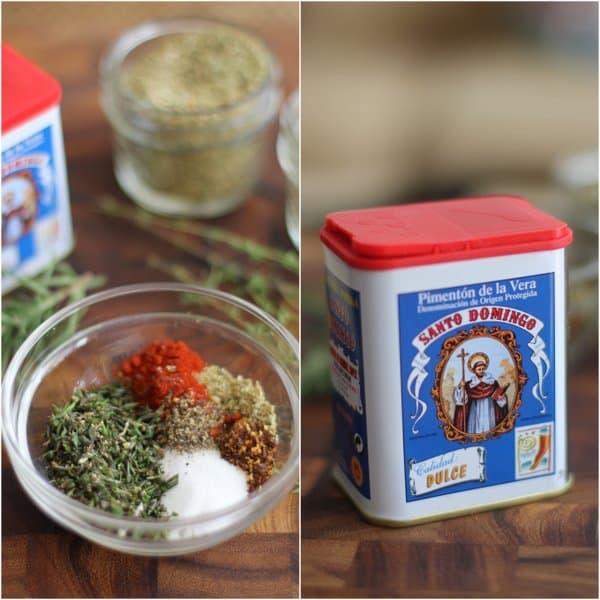 Herbs for Crockpot Rotisserie Chicken