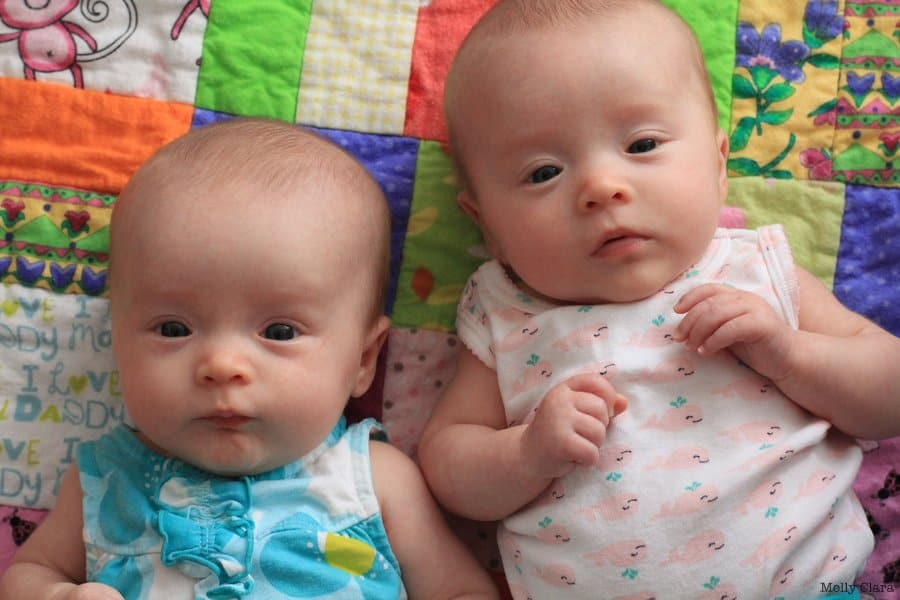 Molly and Clara_3 months