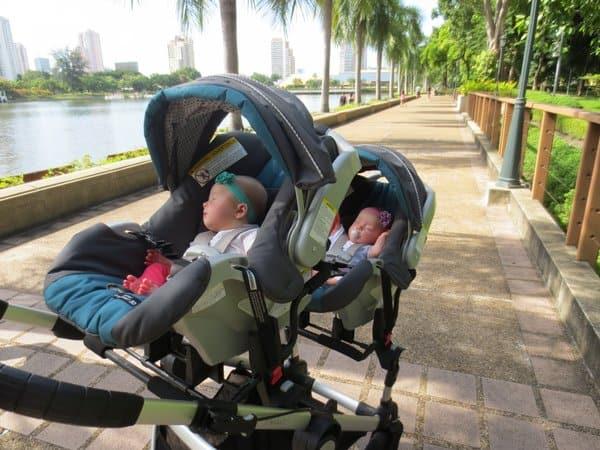 Molly and Clara stroller