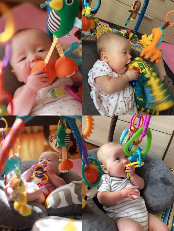 Clara 5 month collage
