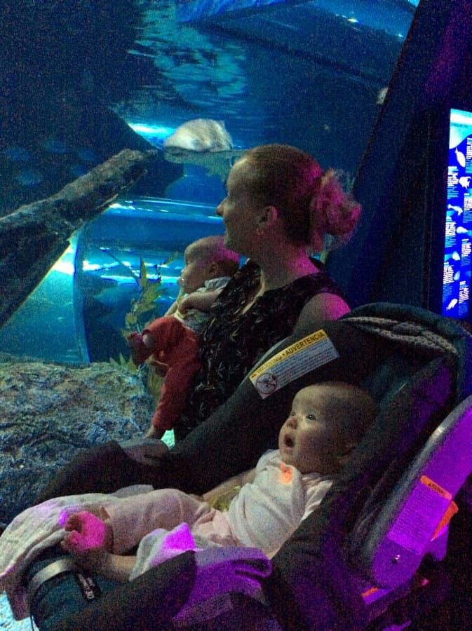 Jess Clara and Molly_Siam Aquarium