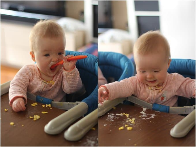 Clara and Molly_Solid Foods 9 Months