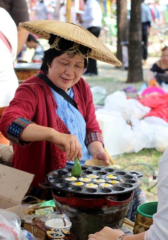 Thailand Tourism Fair_kanom krok