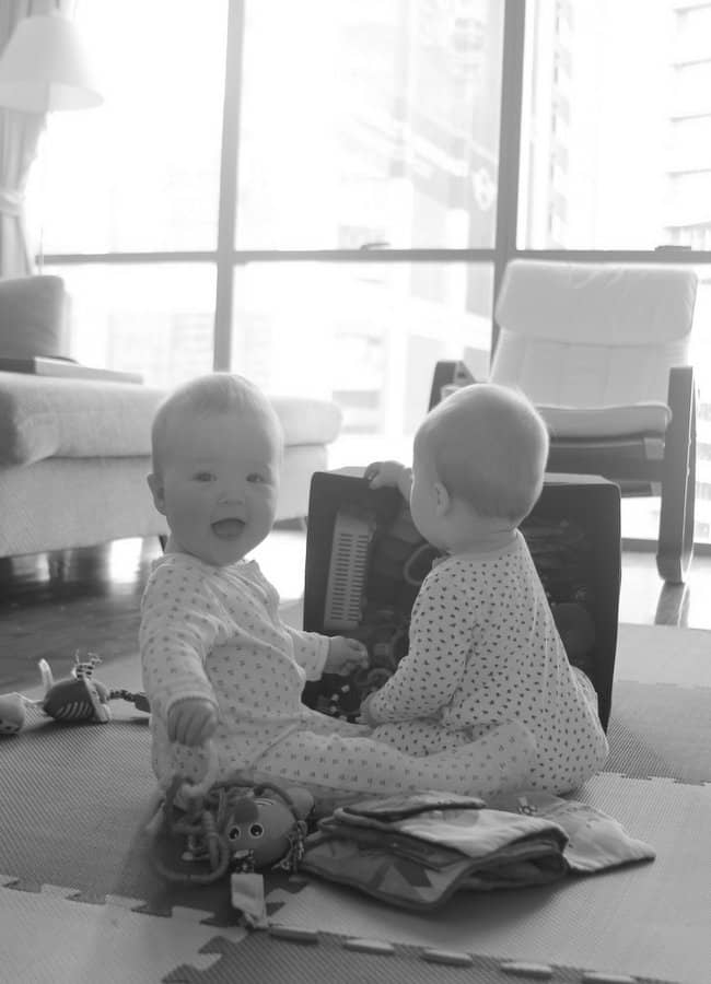 Molly and Clara_10 Months