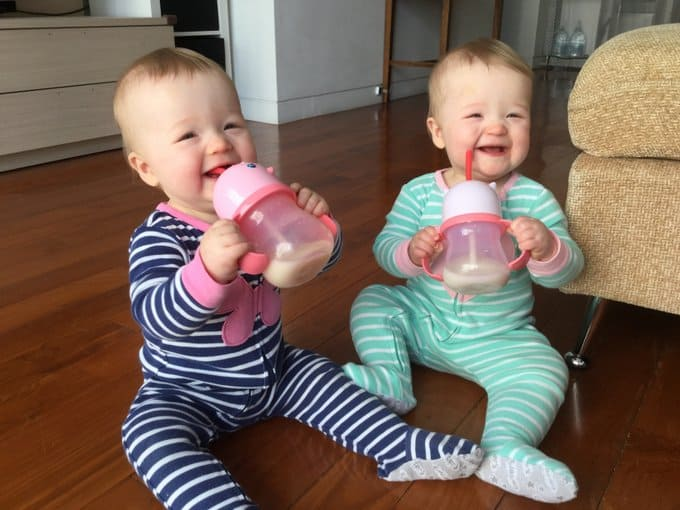 Molly and Clara_Sippy Cups