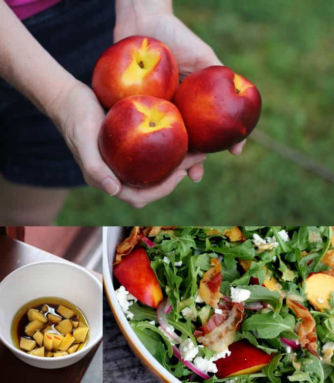 nectarines for salad