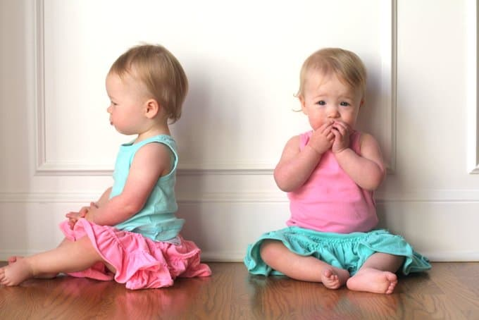 Molly and Clara_15 Months