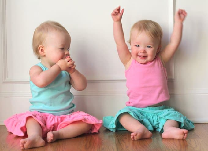 Molly and Clara_15 Months_