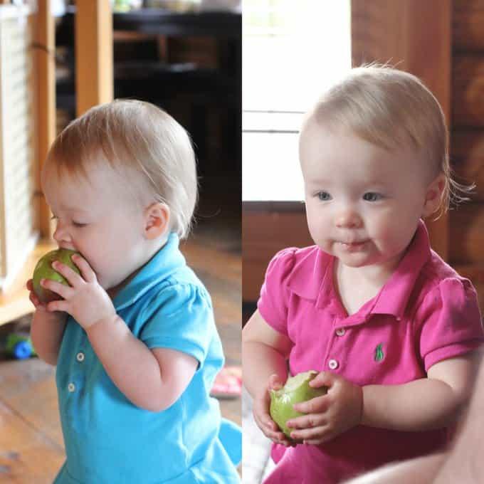 Molly and Clara_Fall Apples