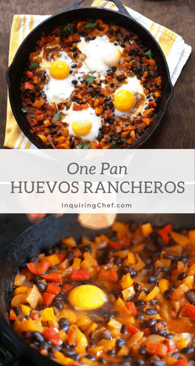 one pan huevos rancheros