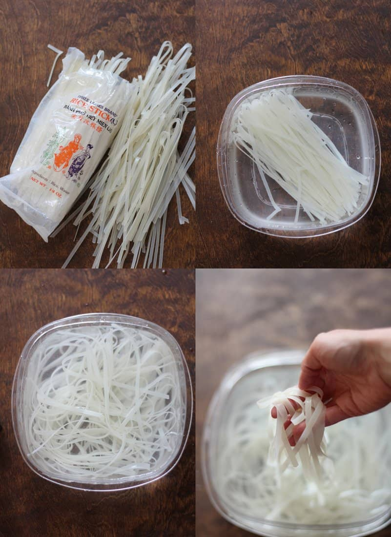 Rice Noodles for authentic Pad Thai