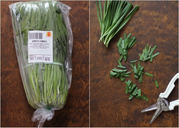 Chinese Chives for Pad Thai