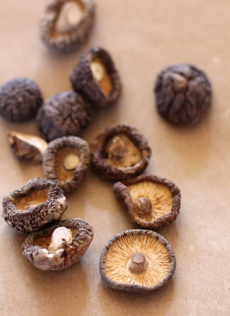 Dried Shiitakes