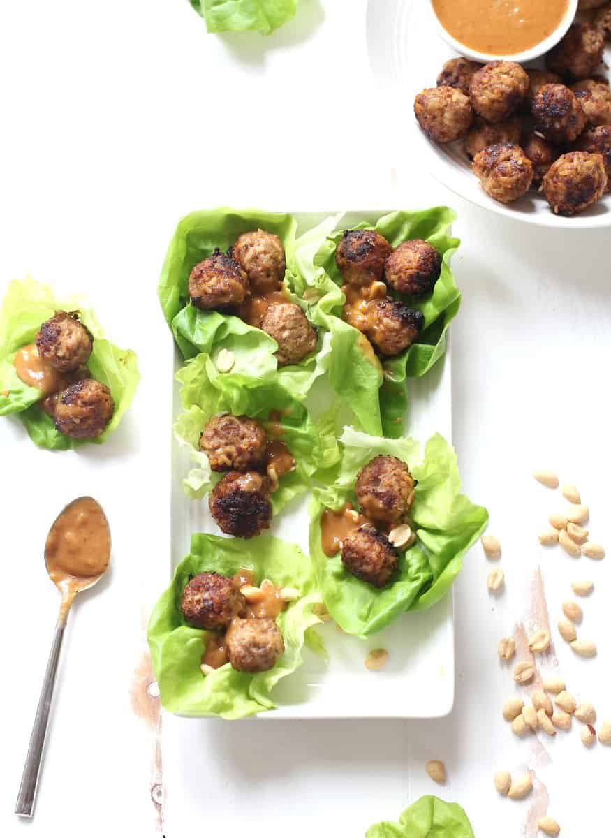 Thai Meatballs with Pork and Rice