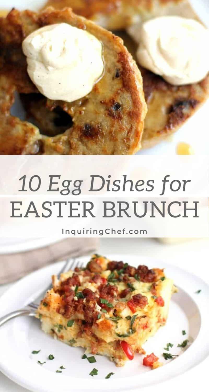 10 egg dishes for Easter brunch